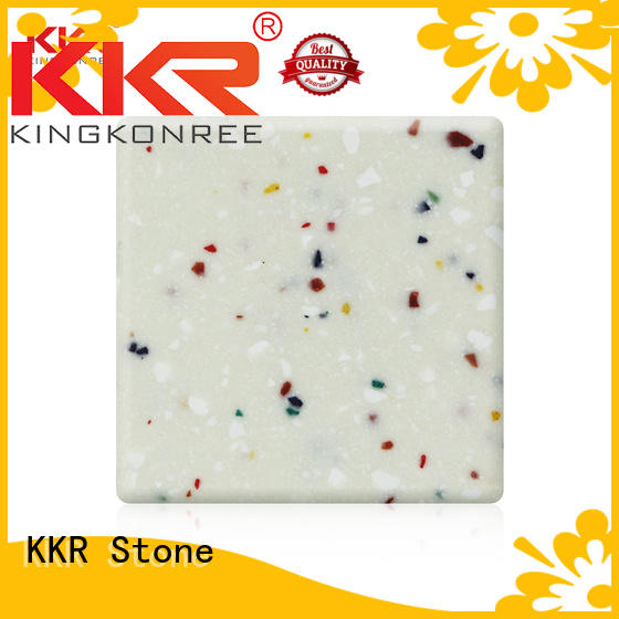 solid surface acrylics sles for kitchen tops KKR Stone