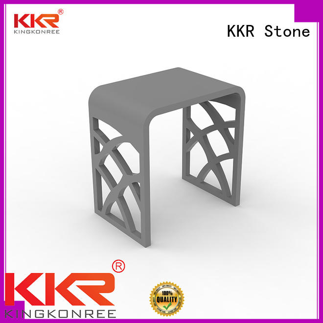 KKR Stone custom-made acrylic display shelves inquire now for hotel