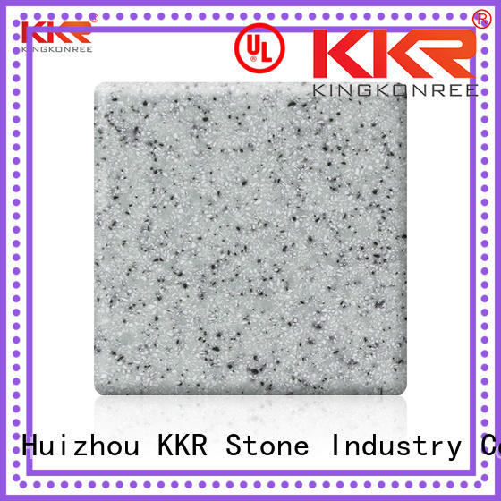 KKR Stone artificial solid surface certifications for worktops