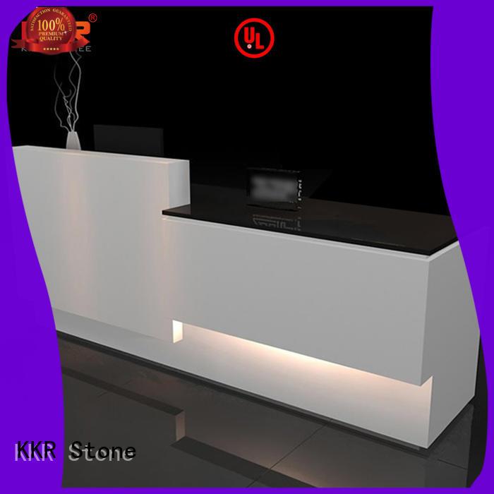reception desk countertop meeting for bar table KKR Stone