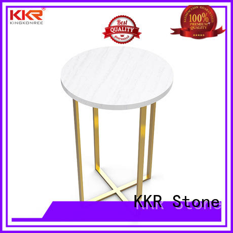 surface artificial stone dining table artificial KKR Stone