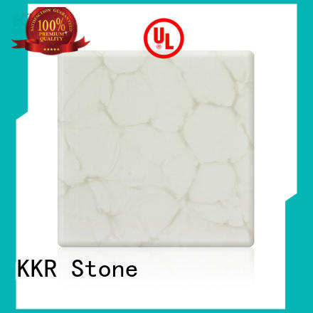 luxury translucent stone panel modified free design for garden table