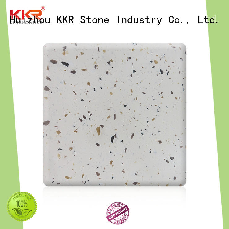 KKR Stone new-arrival solid surface factory superior chemical resistance for worktops