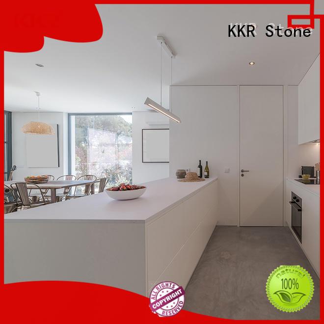 KKR Stone kitchen quartz countertops wholesale for building