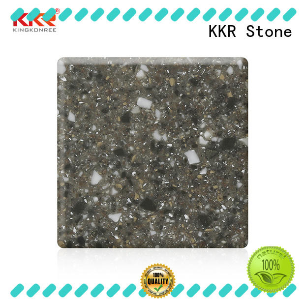 KKR Stone Warm touch buy solid surface sheets length for worktops