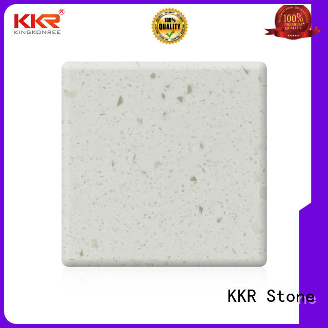 KKR Stone high tenacity solid surface factory superior stain for worktops