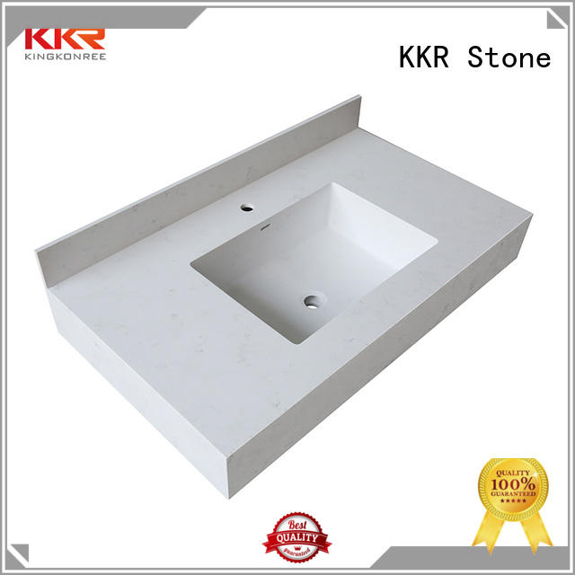 KKR Stone solid bathroom tops
