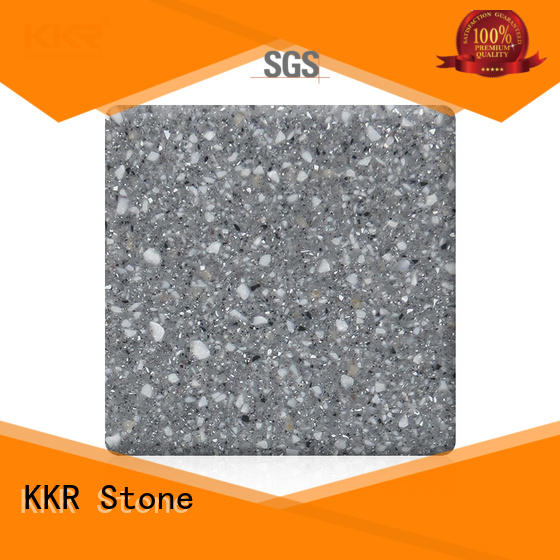 KKR Stone fine- quality acrylic solid surface sheet surface for home