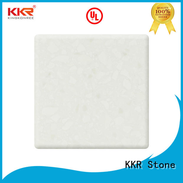 KKR Stone high tenacity solid surface widely-use for entertainment