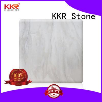 KKR Stone radiation free solid surface panels vendor for bar table
