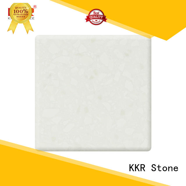 KKR Stone artificial solid surface supplier for table tops