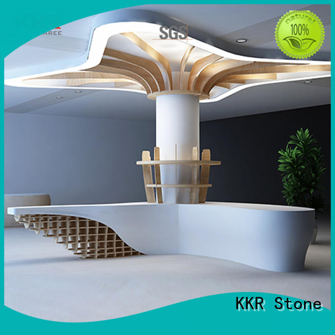 KKR Stone modern acrylic counter top for table tops