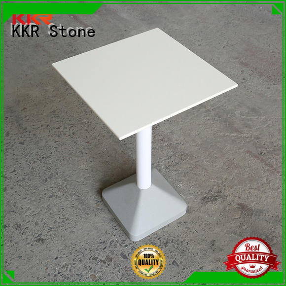 KKR Stone table artificial marble dining table