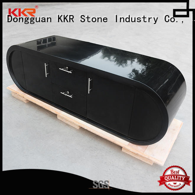 KKR Stone fashion design modern reception desk sales for bar table