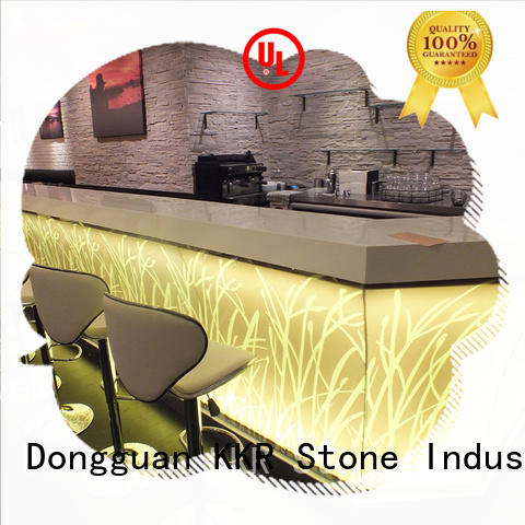 KKR Stone wall mounted bar countertop counter