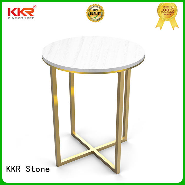 KKR Stone artificial marble dining table artificial