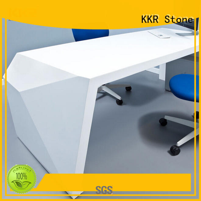 curved reception desk design for kitchen tops KKR Stone