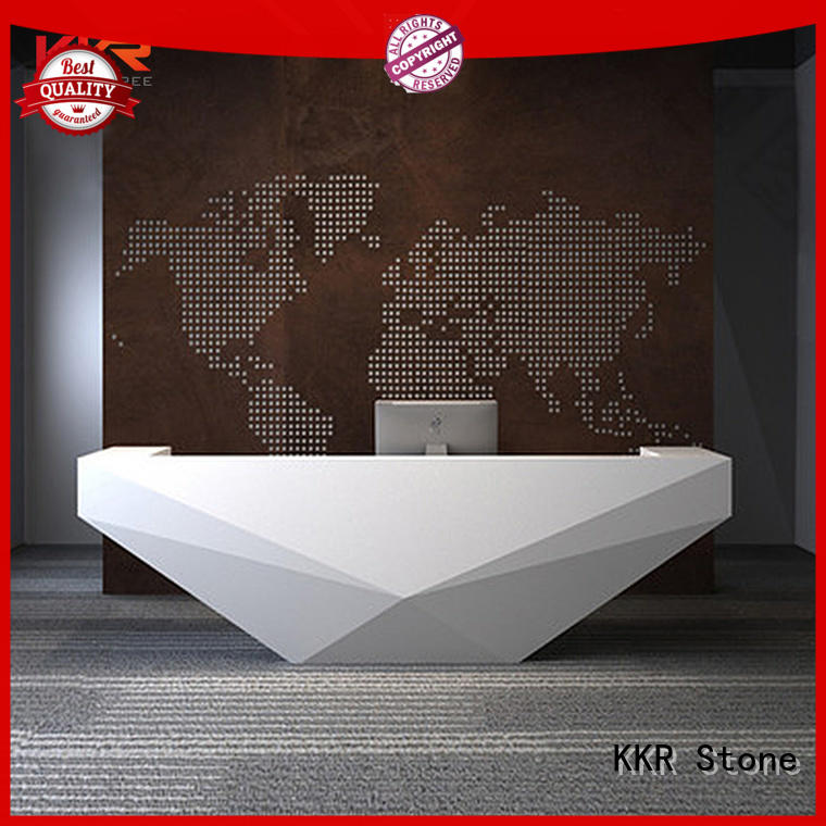 KKR Stone fashion design office counter solid for worktops