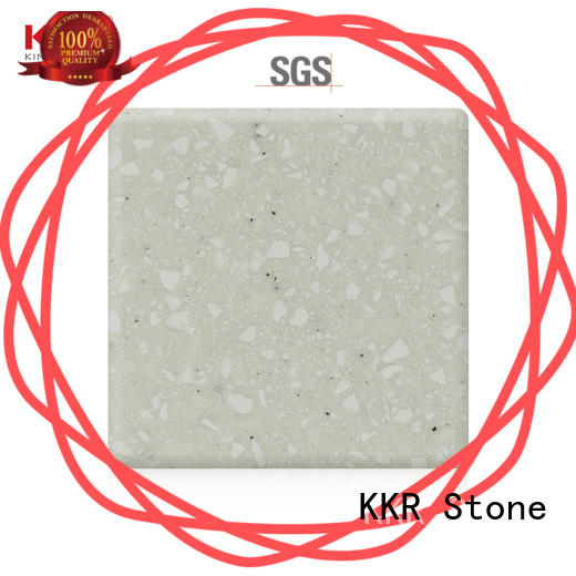 sheet modified solid surface superior bacteria for table tops KKR Stone