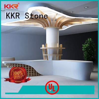 KKR Stone modified acrylic office counter free quote for building