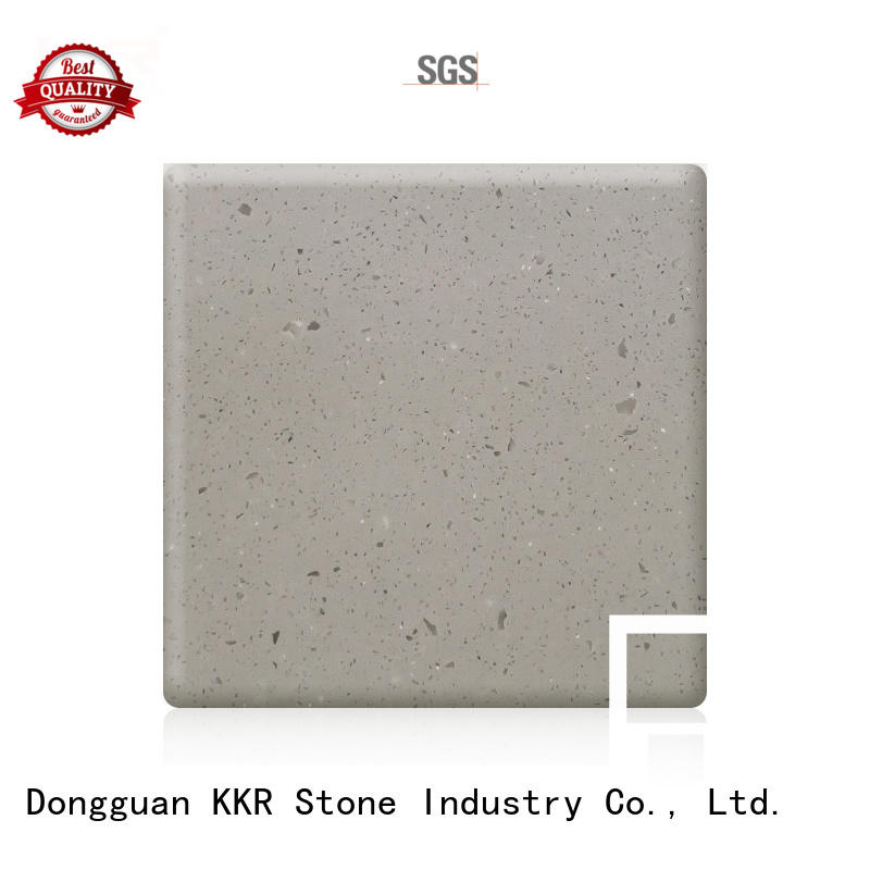 pure acrylic solid surface sheet sheet for shoolbuilding KKR Stone