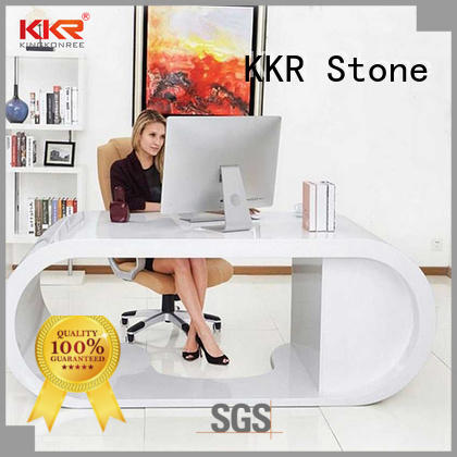 KKR Stone pure acrylic solid surface desk long-term-use for kitchen tops