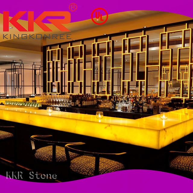 artificial stone dining table KKR Stone