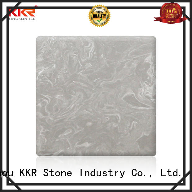 KKR Stone decorative marble solid surface wholesale for entertainment