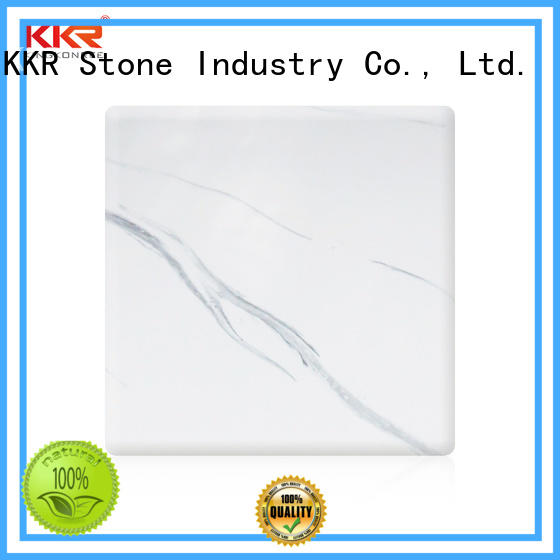 KKR Stone high-quality solid surface panels supply furniture set