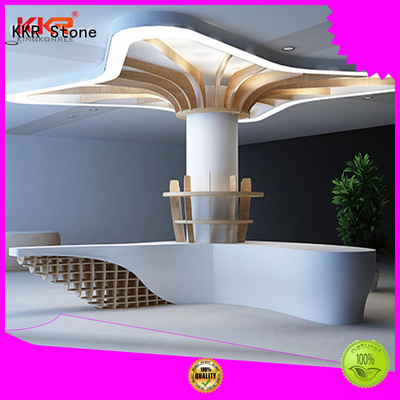 lassic style reception desk countertop solid certifications for entertainment