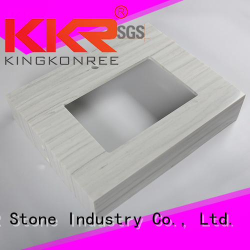 quality solid surface bathroom countertops widely-use for table tops KKR Stone
