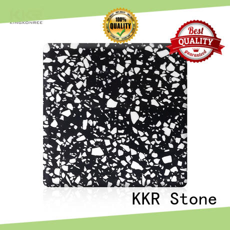 KKR Stone festival modified acrylic solid surface superior chemical resistance furniture set