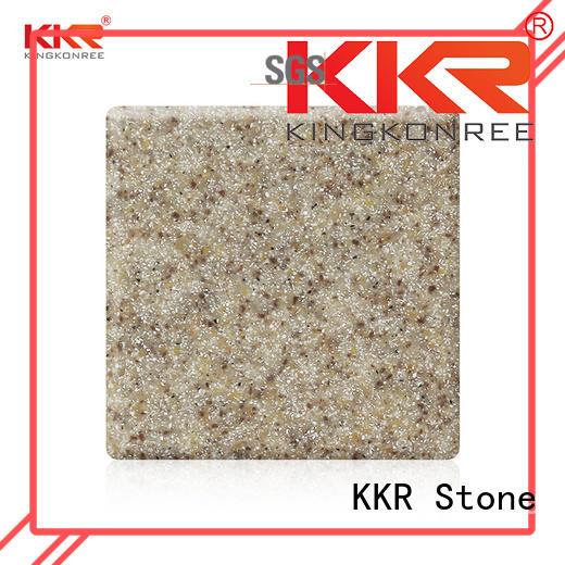 solid surface big slabs solid furniture set KKR Stone
