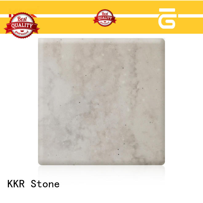 KKR Stone pollution free corian solid surface sheet factory furniture set