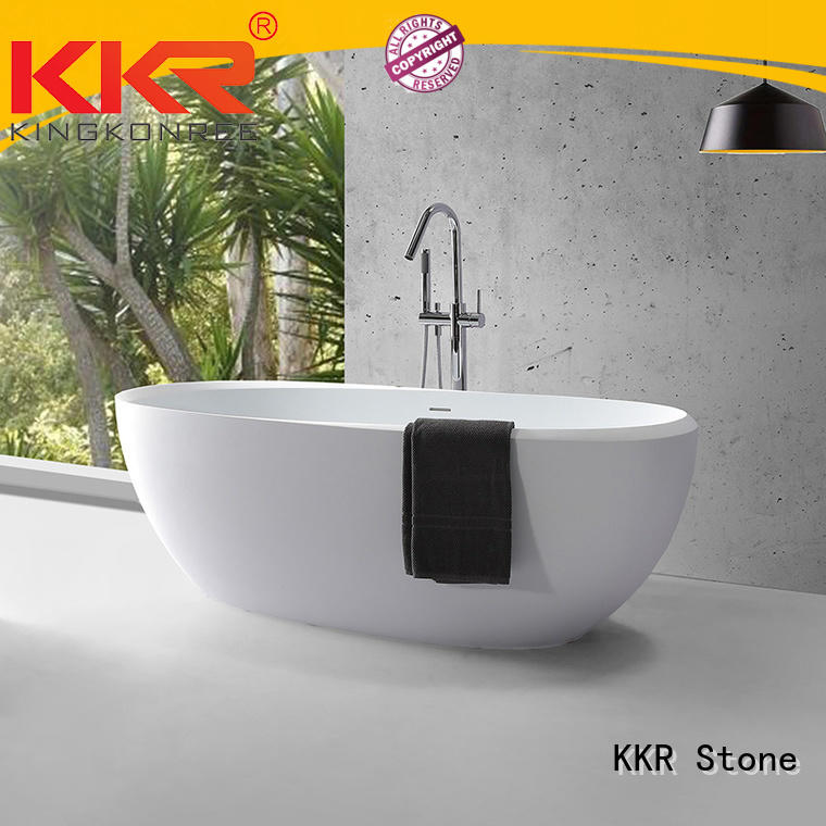 KKR Stone bathtubs for sale supply for early education