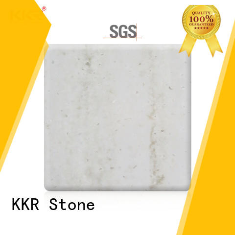 KKR Stone pattern solid surface slab supply for building