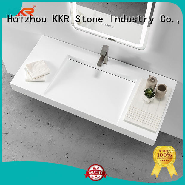 KKR Stone lassic style bathroom vanity with sink in good performance for kitchen tops