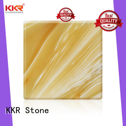 KKR Stone kkra028 translucent stone panel free design for home