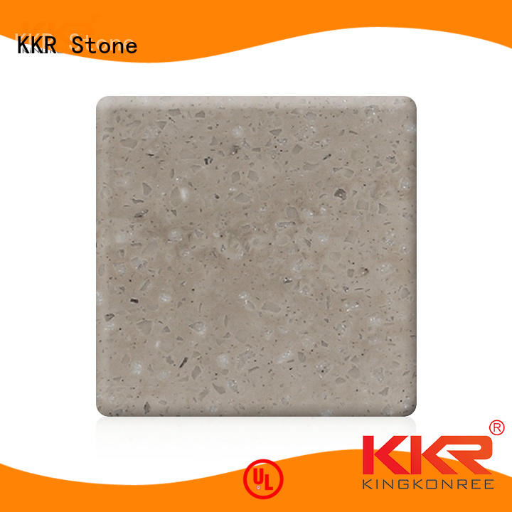 KKR Stone flame-retardant solid surface factory price for worktops