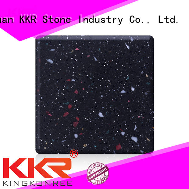 KKR Stone high tenacity buy solid surface sheets superior chemical resistance for kitchen tops