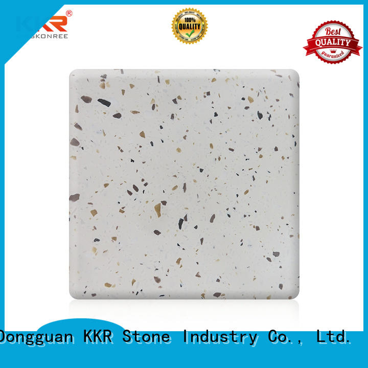 KKR Stone hot-sale solid surface factory superior chemical resistance for table tops