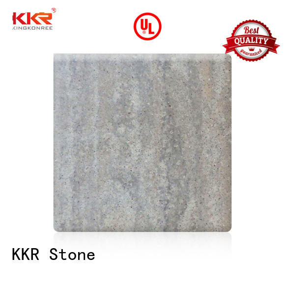 KKR Stone quality solid surface certifications for entertainment