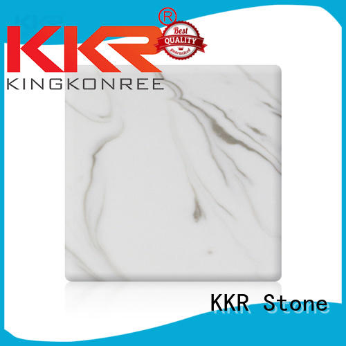 KKR Stone marble solid surface slab sheets furniture set