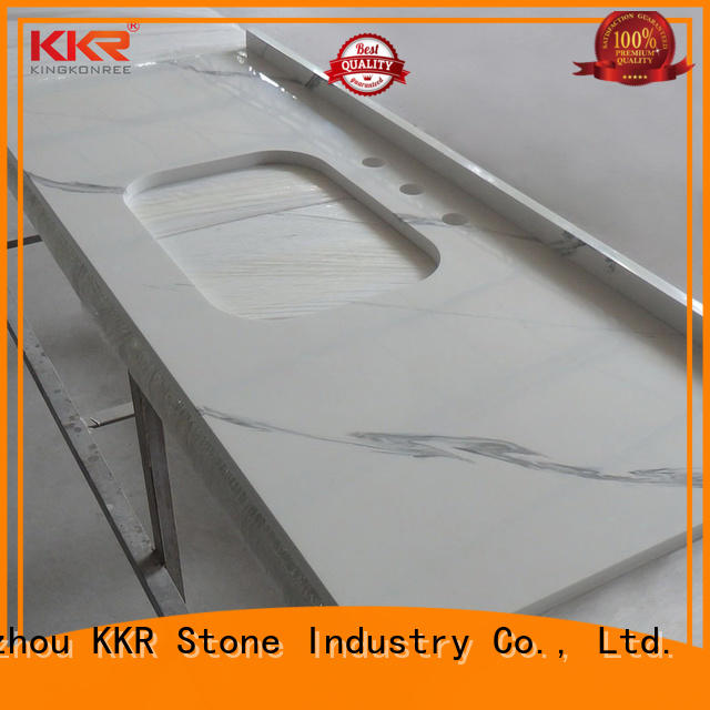 solid Surface bathroom countertops single certifications for school building