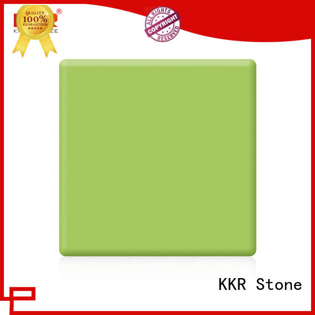 KKR Stone sparkle modified solid surface superior stain for table tops
