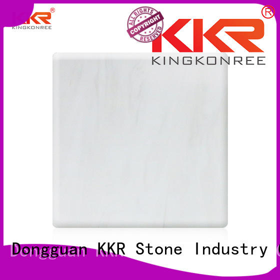solid surface sheets for sale marble for entertainment KKR Stone