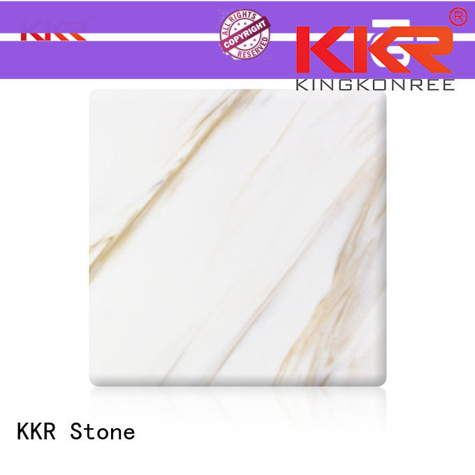 KKR Stone pollution free marble solid surface vendor for early education