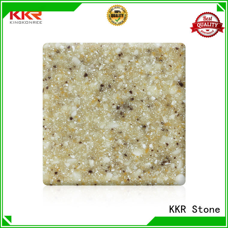 KKR Stone solid surface big slabs surface for worktops