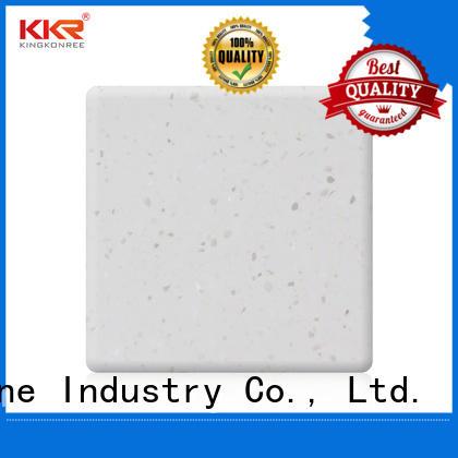 sles solid surface sheet slabs superior chemical resistance furniture set KKR Stone