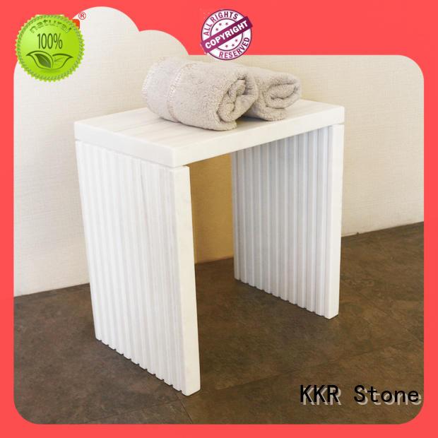 KKR Stone custom-made towel rack shelf supply for living room